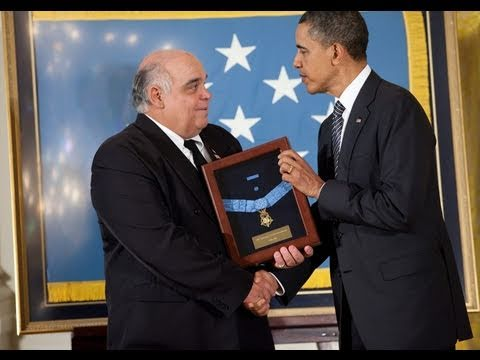President Obama Awards Medal of Honor to Korean War Heroes