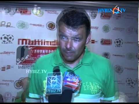 Mark Tobin Coach at Mahindra Youth Football Challenge