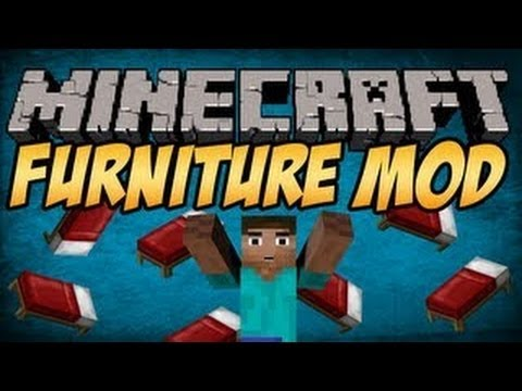Minecraft 1.7.4 Mods   FURNITURE MOD