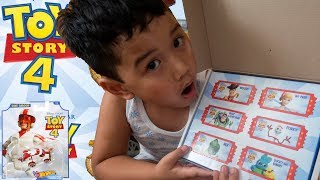 Unbox Toy Story 4 Toys Mystery Box Hot Wheels Duke Caboom Ducky Bunny Bo Peep Forkyr