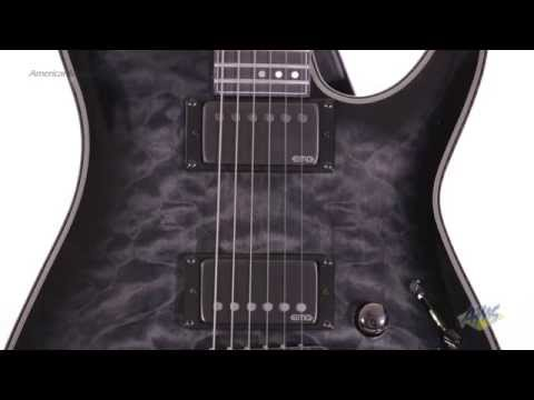 Schecter Hellraiser Hybrid C1 Electric Guitar - Schecter Hellraiser Hybrid C1 video