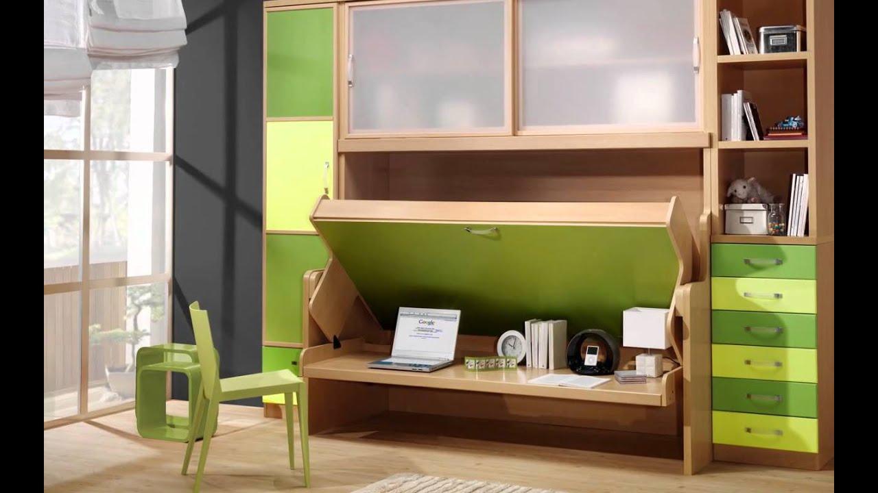 Camas abatibles con escritorio camas mesa literas for Camas abatibles juveniles