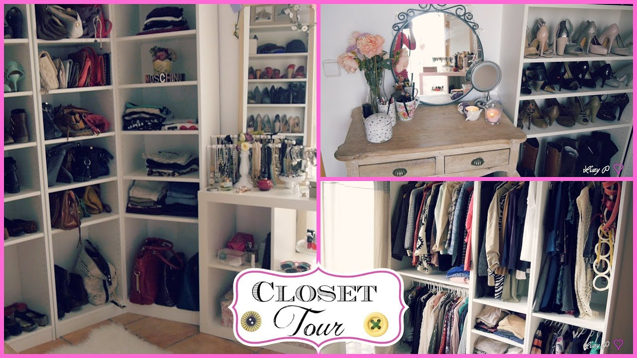 My CLOSET/ROOM Tour u2665 Tips organizaciu00f3n y decoraciu00f3n! - YouTube