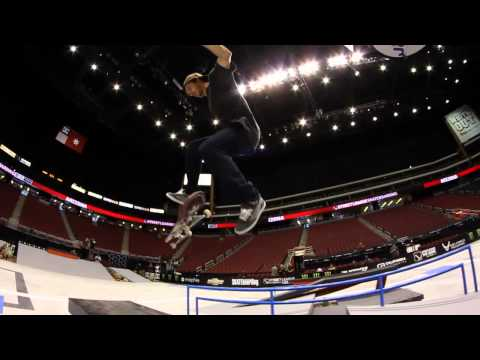 Street League 2012: AZ Practice Quick Clip with Mark Appleyard