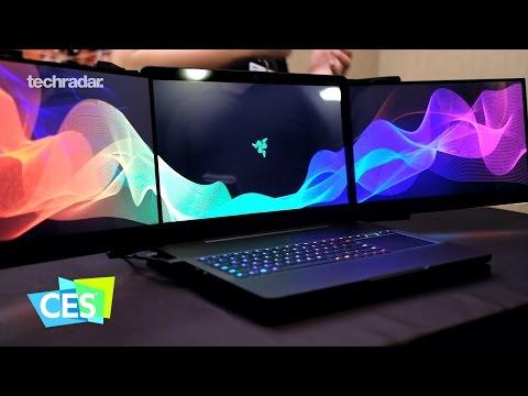 Razer Project Valerie revealed at CES 2017: 11520 x 2160 Laptop