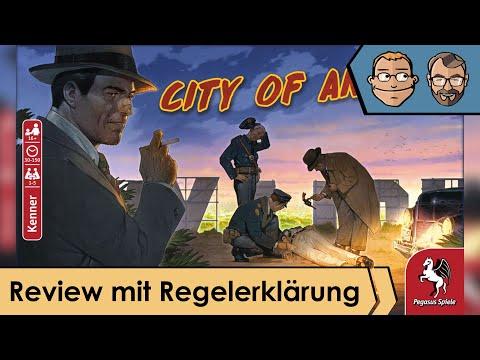 City of Angels – Brettspiel – Review und Regelerklärung