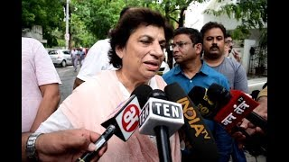 Congress leader Kiran Walia Reacts to Former Delhi CM Sheila Dikshit Demise