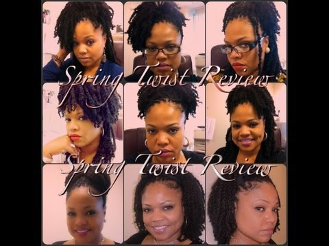 Spring Twist Products Used & Quick Styling Tips