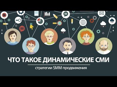 Стратегии SMM продвижения. Что такое динамическое СМИ