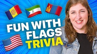 Fun with Flags Trivia! - The Big Bang Theory    Mayim Bialik