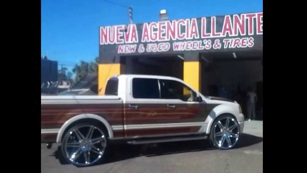 2008 Ford f150 limited on 30s - YouTube