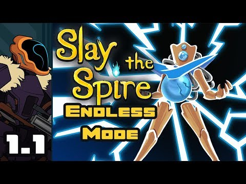Let's Play Slay The Spire: Endless Mode - Part 1-1 - No Limits!