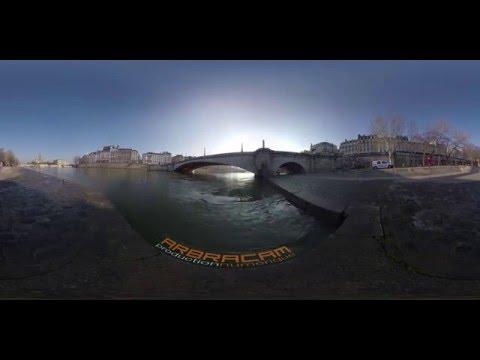 Video Paris 360 - 4K resolution - VR360 - Arbracam Production Numérique - Tourism