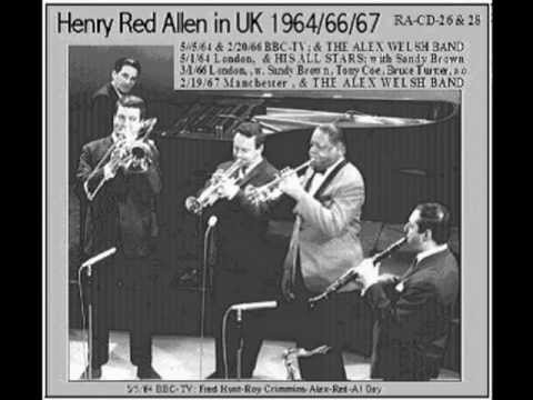 Henry Red Allen 1966 BBC-TV + Alex Welsh Band - Sweet Substitute (audio)