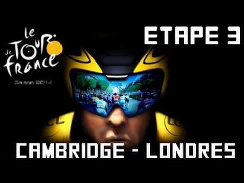 Tour de France 2014 [PS4]  | Etape 3 : Cambridge - Londres [HD] [Fr]