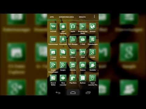 Breaking Bad Theme and Icon Pack - Nova, Apex, GO Launcher EX and more...