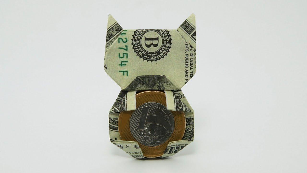 origami money cat jo nakashima youtube