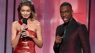 Gigi Hadid does Melania Trump impression - Full Monologue at the AMAs