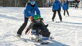 UNH OT Students Intern with New England Disabled Sports at Loon Mountain