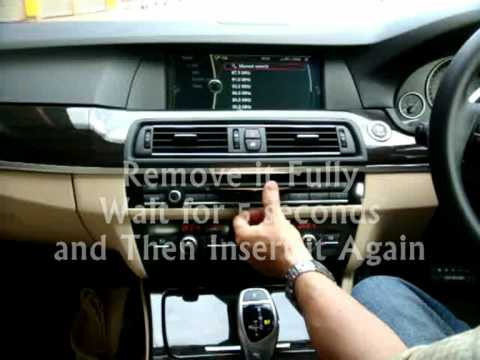 UnlockDVD   To unlock DVD / TV while driving for BMW