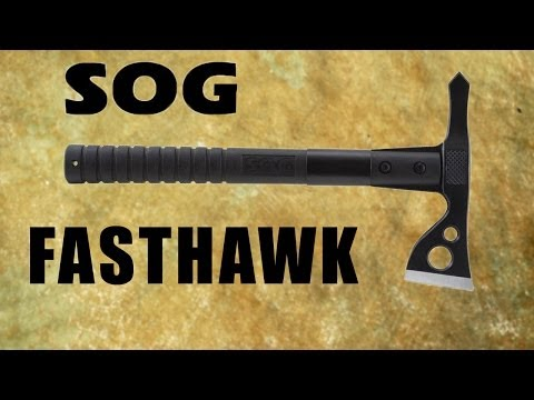 SOG Fasthawk review - Agile mini tomahawk