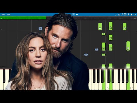 Download I39ll Never Love Again  Piano Tutorial  PIANO ONLY  Lady Gaga amp Bradley Cooper  A Star Is Born