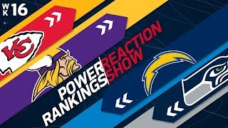 Power Rankings Week 16 Reaction Show: Who is Making the Playoffs?   NFL Network