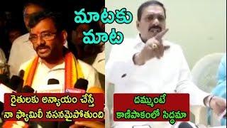 TDP SomiReddy VS KakaniGovardhan Reddy War OF Powerful Comments | Cinema Politics