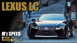 【M'z SPEED】エアロパーツ レクサスLC500/500h  LEXUS LC500h/LC500 =Prussian Blue= BodyKits by mzspeed Japan.
