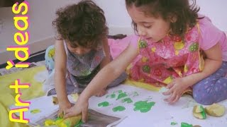 Keep Kids Busy with ART! - 5 Creative ideas | Fatema's Art Show