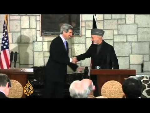Top US diplomat seeks Afghan deal with Taliban