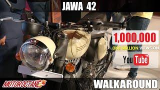Jawa 42 Walkaround review   Hindi   MotorOctane