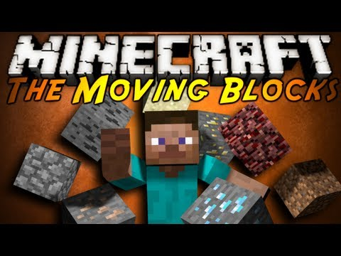 Minecraft Mod Showcase : THE MOVING BLOCKS!