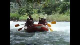 White Water Rafting at Cagayan de Oro Philippines