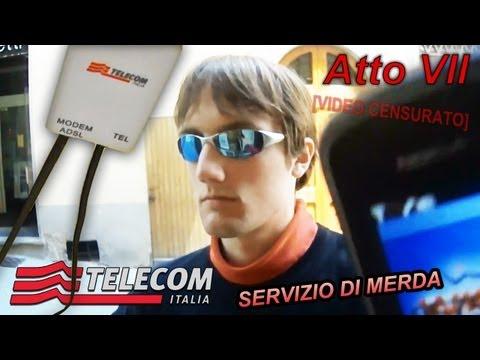 [VIDEO CENSURATO] Telecom Italia Merda - Atto VII