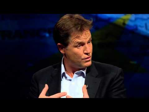 In full: Nick Clegg interview - Newsnight