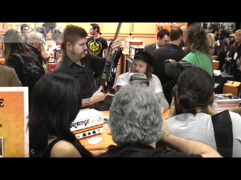 MASTODON AT THE ORANGE BOOTH NAMM 2011