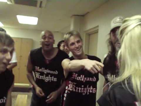 Hollywood Knights USO Hawaii Locker Room Roll Call Video