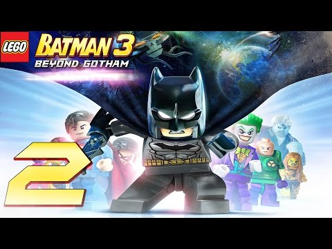 Zagrajmy w: LEGO Batman 3: Poza Gotham #2 - Batmolka