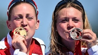 England wins TWO medals in women's triathlon spectacular start to Commonwealth Games