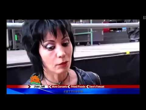 Joan Jett - Behind The Scenes @The NY State Fair 2014
