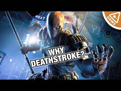 Why Deathstroke Is The Batman Villain! (Nerdist News w/ Jessica Chobot)
