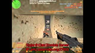 Counter Strike 1.6 Zombie Server Game Play