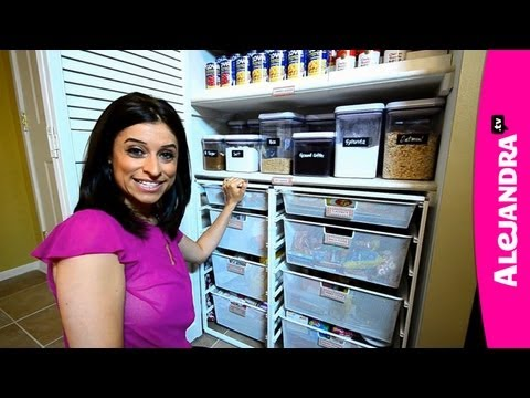 Most Organized Home in America - HGTV Clean Freaks & Professional Organizer Alejandra Costello