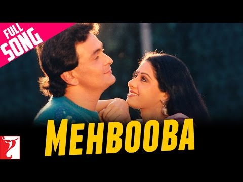 Mehbooba - Full Song - Chandni