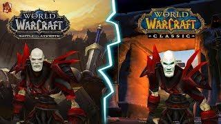 Classic VS BFA | Новая эпоха в мире World of Warcraft