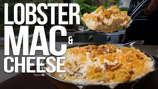 The Best Baked Lobster Mac and Cheese | SAM THE COOKING GUY 4K