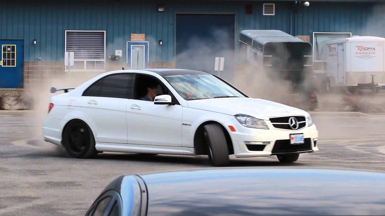 Mercedes C63 Drifting Youtube