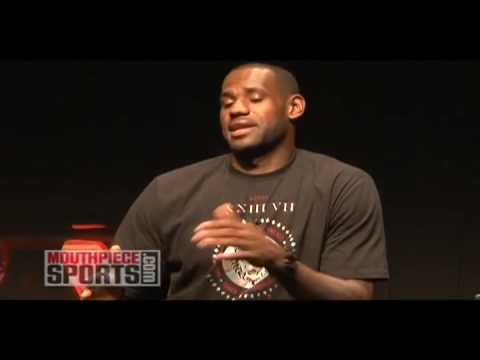 Lebron James Speaks On Getting Dunked On By Jordan Crawford & Not Shaking Hands At Championship Game
