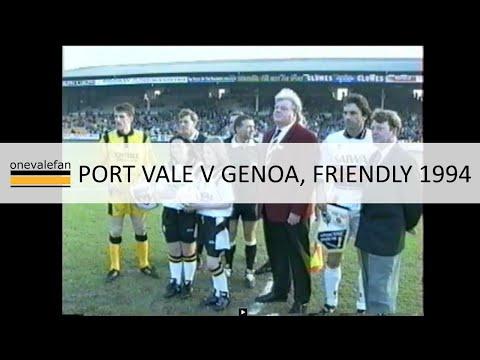Port Vale v Genoa friendly, 1994